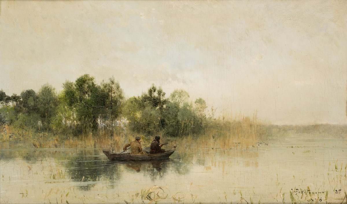 Ivan Pokhitonov painting at auction