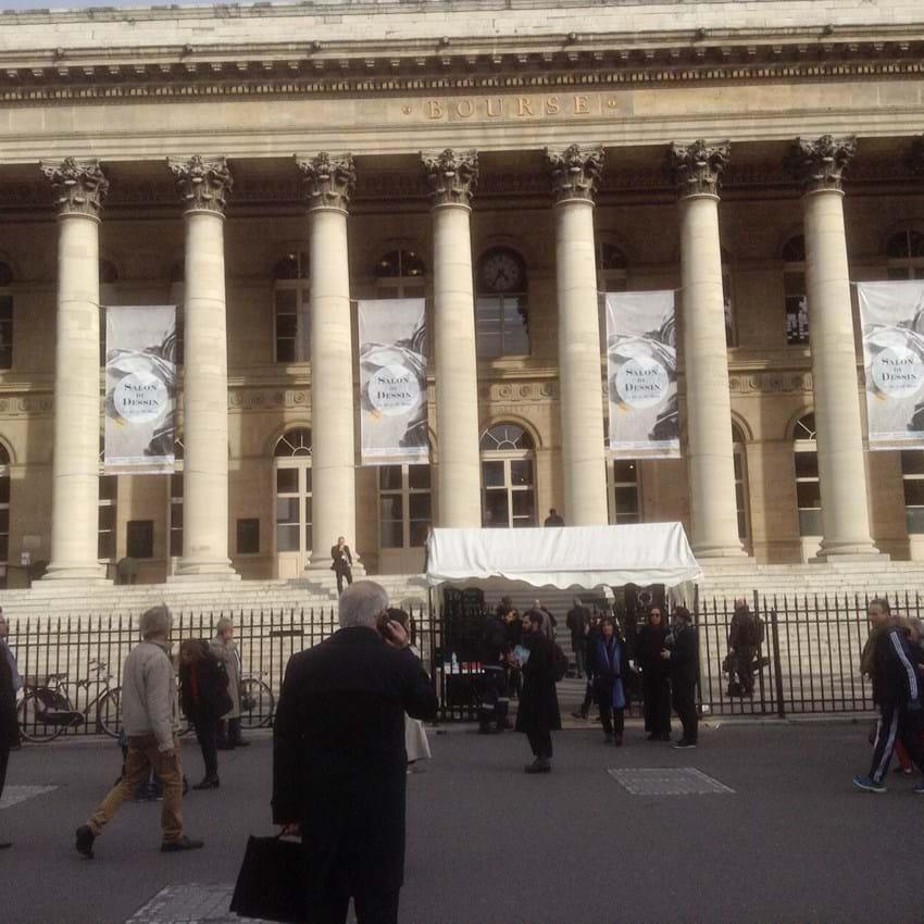Palais Brogniart, venue of Fine Arts Paris