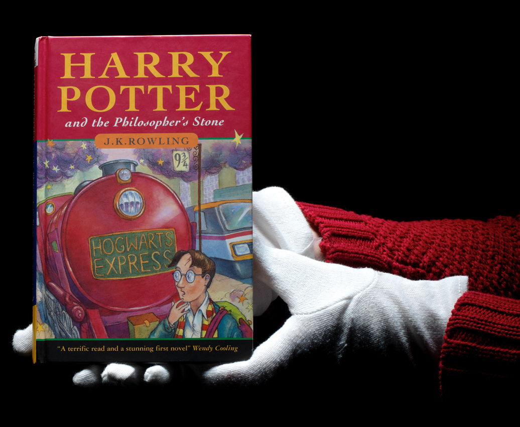 First Edition Of Harry Potter And The Philosophers Stone