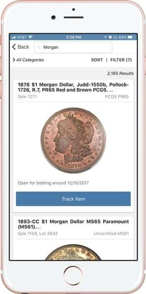 Heritage Auctions app