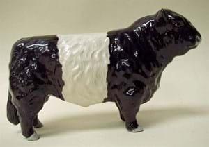 Beswick Belted Galloway Bull (model 1746B)
