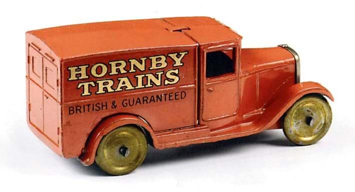 Dinky Hornby Trains van sold at Vectis