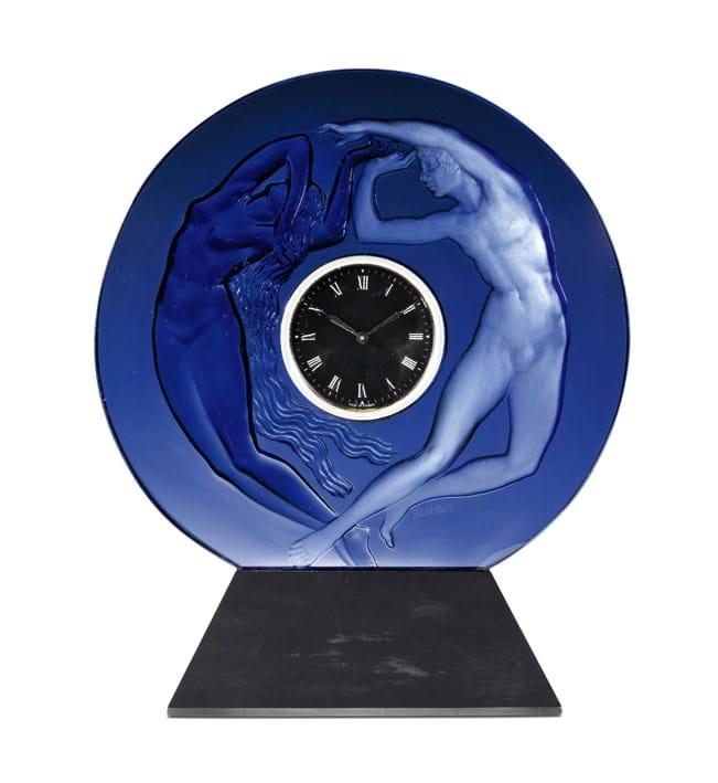 Lalique La Jour et La Nuit (Day and Night) timepiece