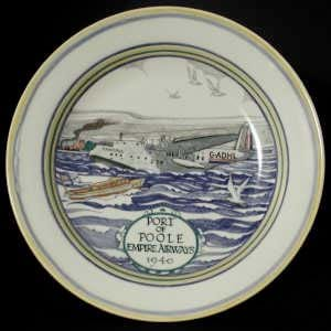 Poole Pottery Empire Airways charger