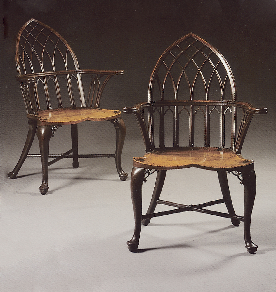 Windsor Chairs Gothic Style
