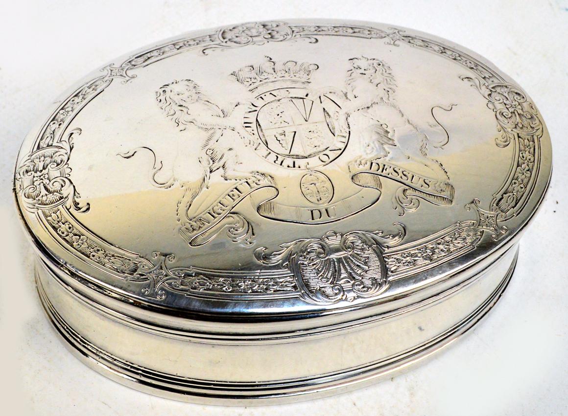18th century snuff box value
