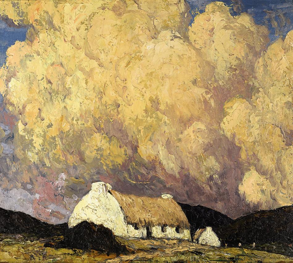 Paul Henrys Landscape With Cottage Sothebys